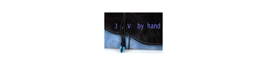 J.V by hand