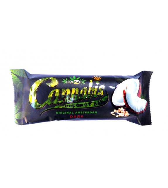 Cannabis Dark Coconut Bar