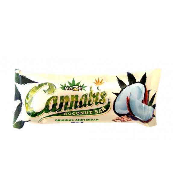 Cannabis Milk Coconut Bar