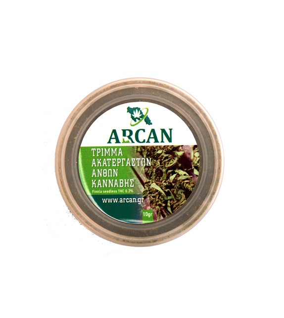 Arcan - Τρίμμα Ακατέργαστων Ανθών Βιολογικής Κάνναβης