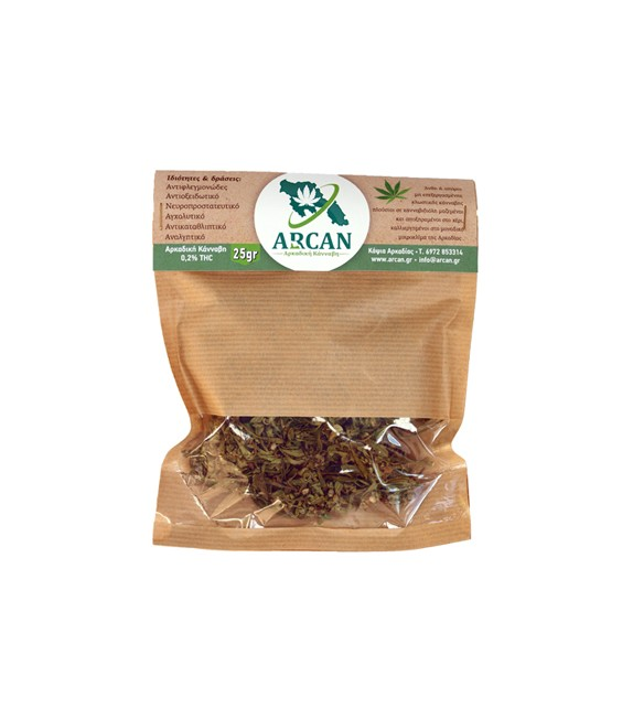 Arcan - Ακατέργαστοι Ανθοί & Σπόροι Βιολογικής Κάνναβης