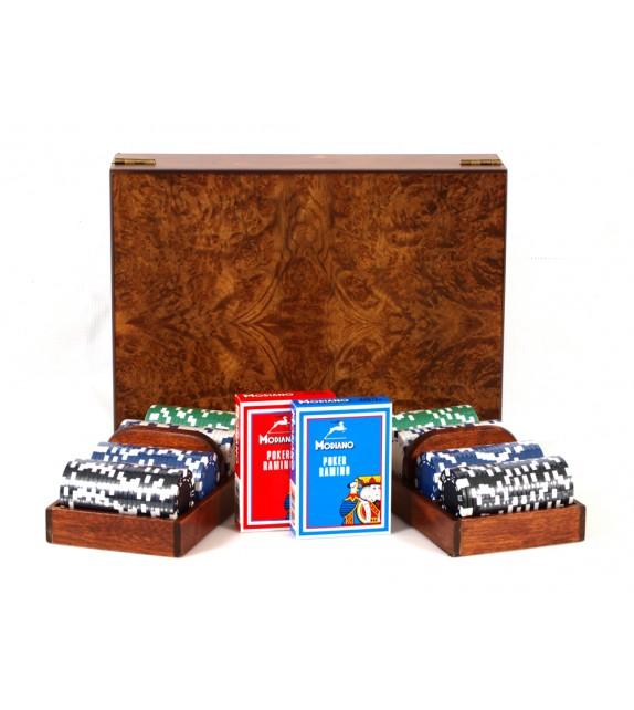 Poker Set Ξύλινο