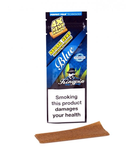 KingPin Hemp Wraps - Blue