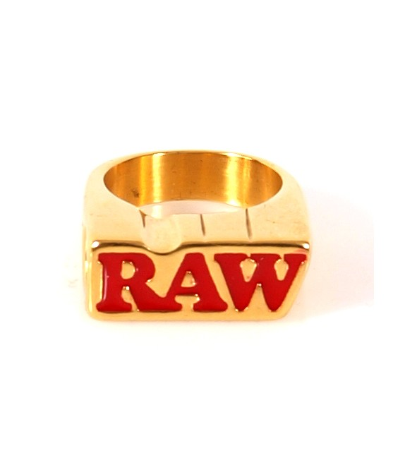 RAW - Gold Smoker Ring