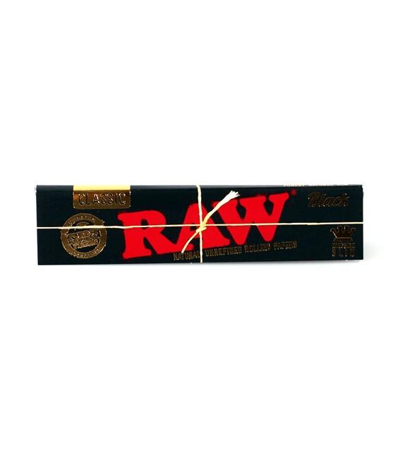 RAW - Black Kingsize Slim