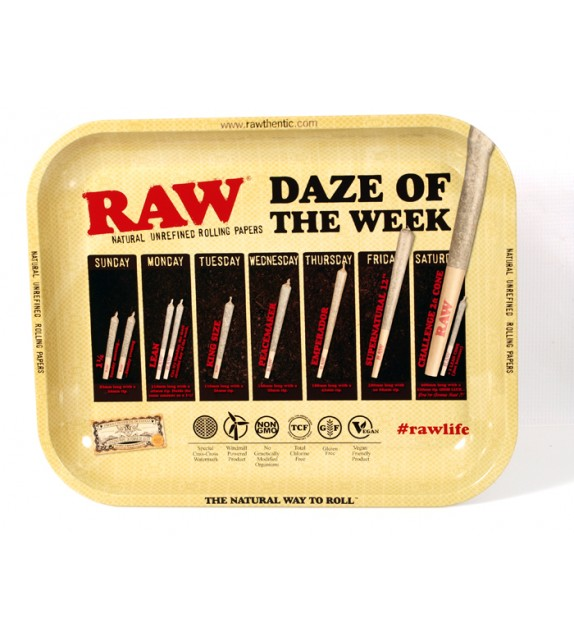 Raw - Tray - Daze Of The Week