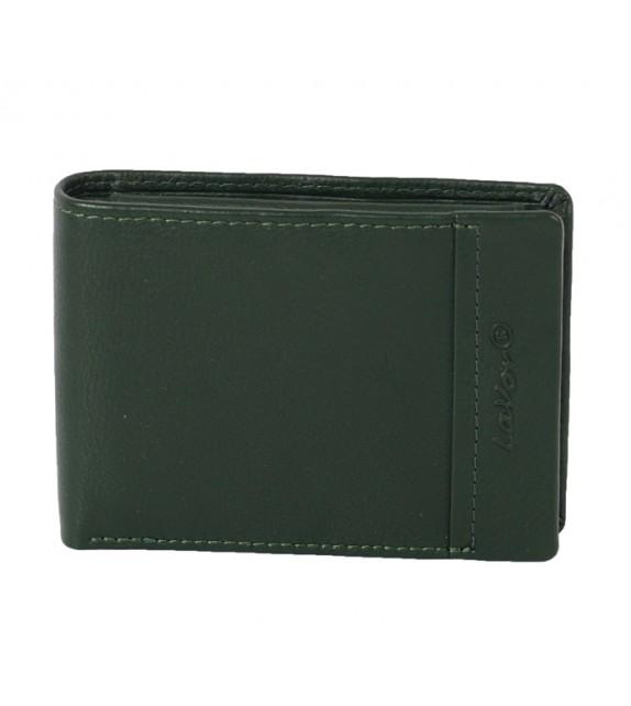 2e1c6fda13 Lavor - Green 1-3207 Πορτοφόλι από γνήσιο δέρμα με RFID PROTECTION ...