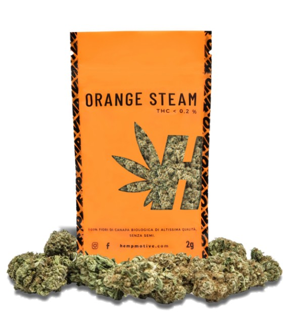 Orange Steam CBD