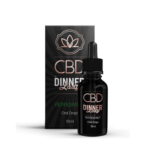Dinner Lady - Oral Drops - Peppermint 15ml