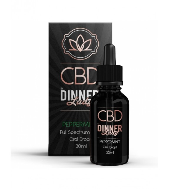 Dinner Lady - Oral Drops - Peppermint 30ml