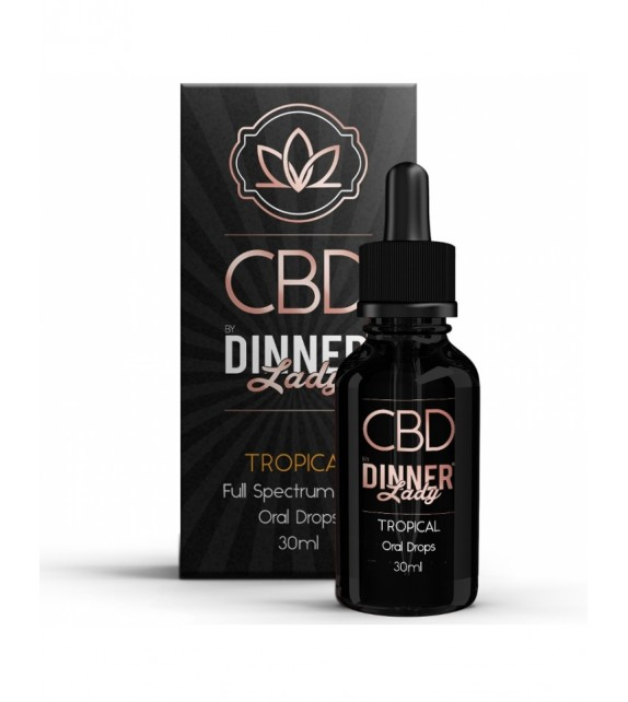 Dinner Lady - Oral Drops - Tropical 30ml