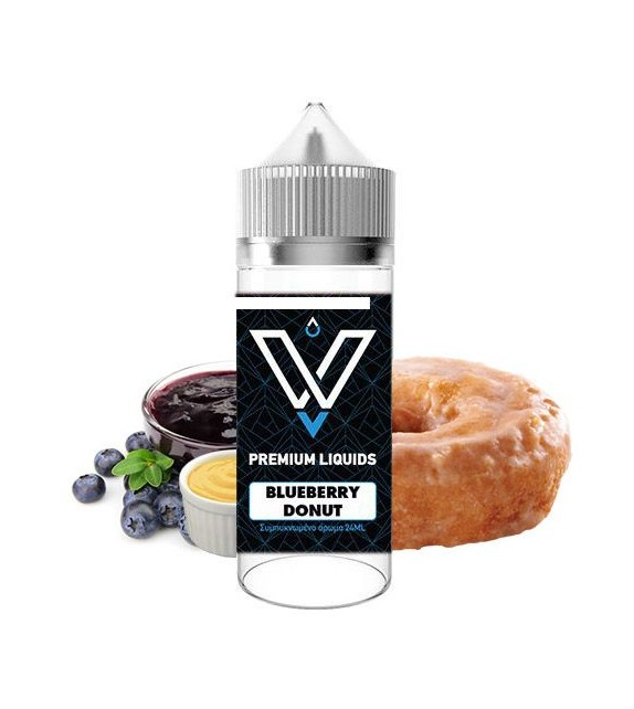 VnV - Blueberry Donut - Shake & Vape 120ml