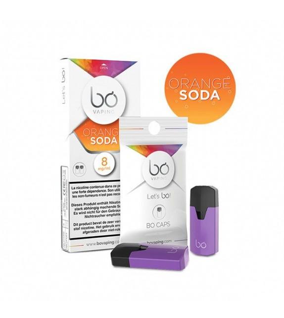 BO Caps-  Orange Soda