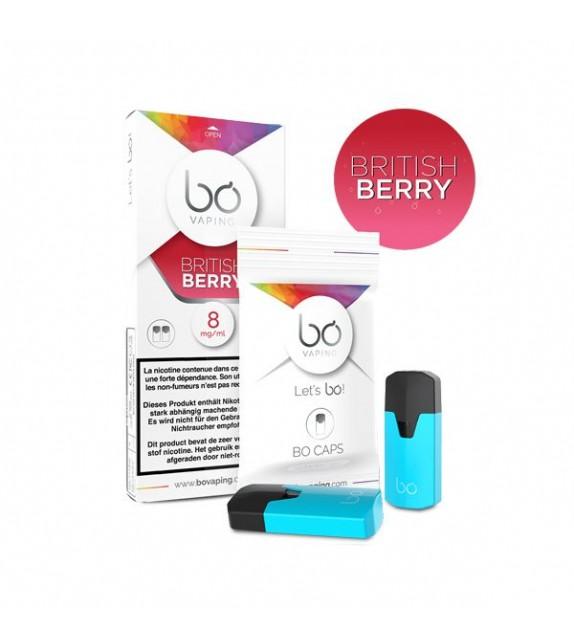 BO Caps - British Berry