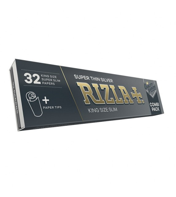RIZLA SILVER KING SIZE + FILTERS
