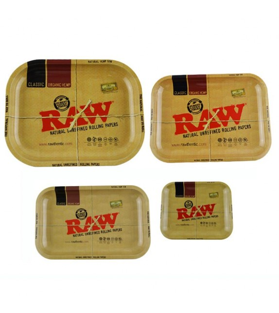 Raw - Metal Rolling Tray