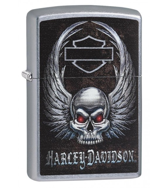 Zippo - Harley Davidson Skull