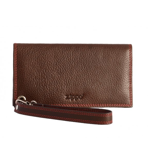 Zippo - Leather Mocca Pouch