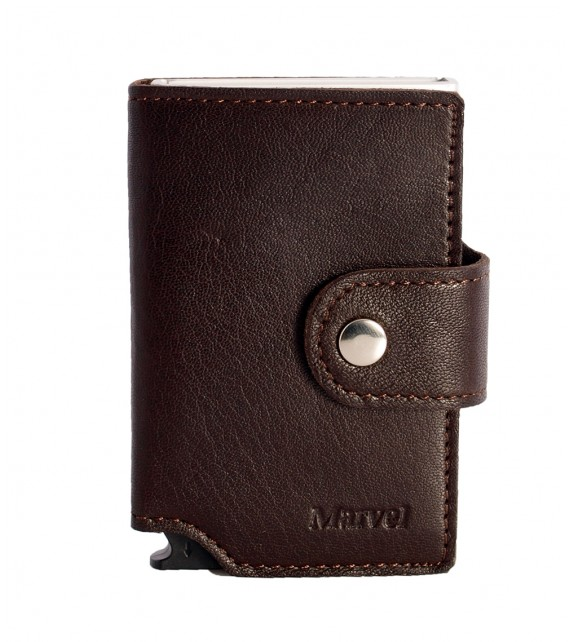Marvel - Card Case Brown