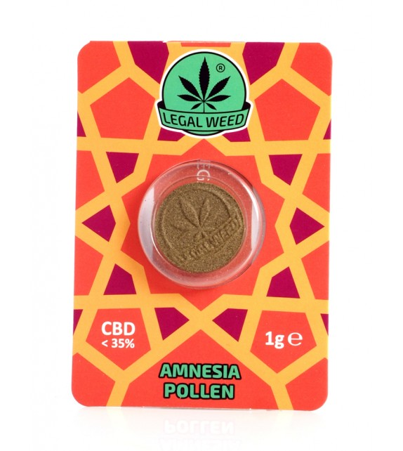 Legal Weed - Amnesia Pollen