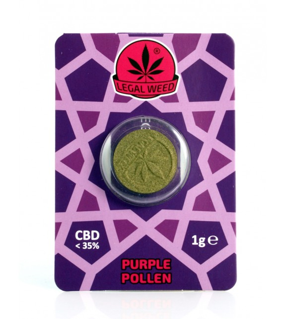 Legal Weed - Purple Pollen