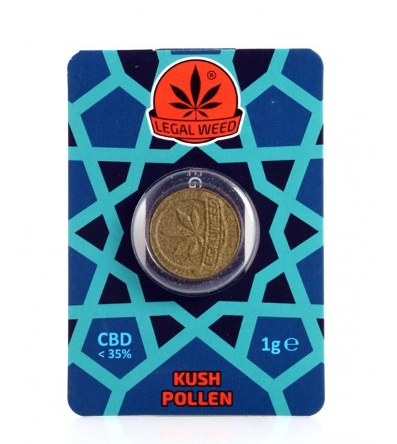 Legal Weed - Kush Pollen