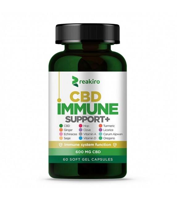 Reakiro - CBD Capsules Immune Support