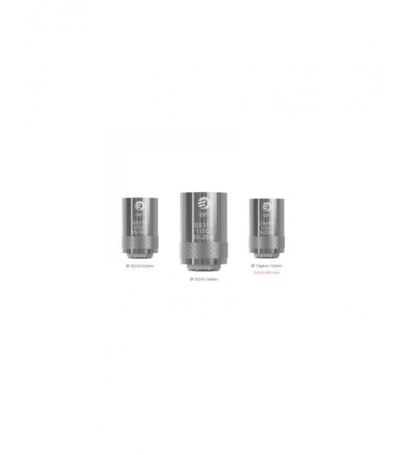 Cubis coils BF SS316 - clapton