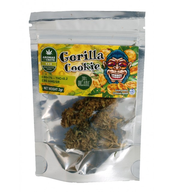 Aromas of Crete - Gorilla Cookie CBD 6% 2g