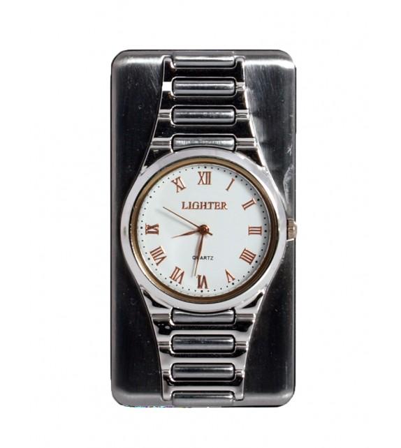 USB Watch Lighter Silver
