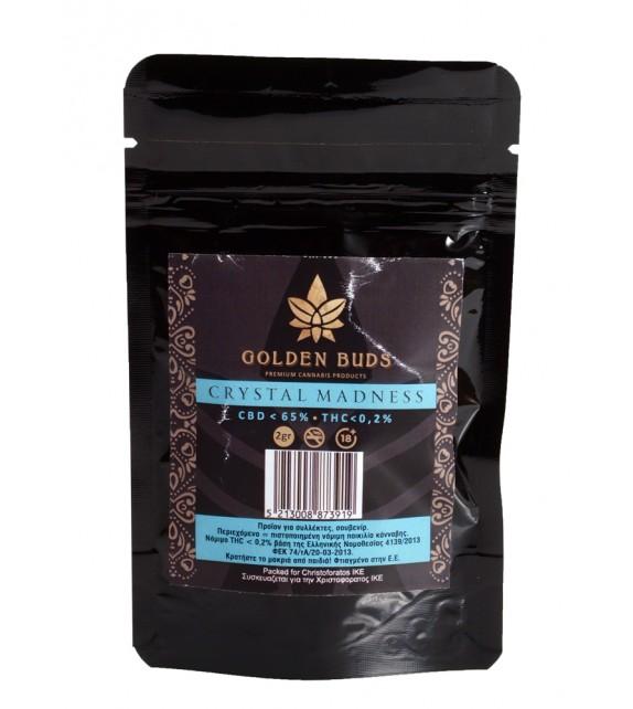 Golden Buds - Crystal Madness CBD 65% 2g
