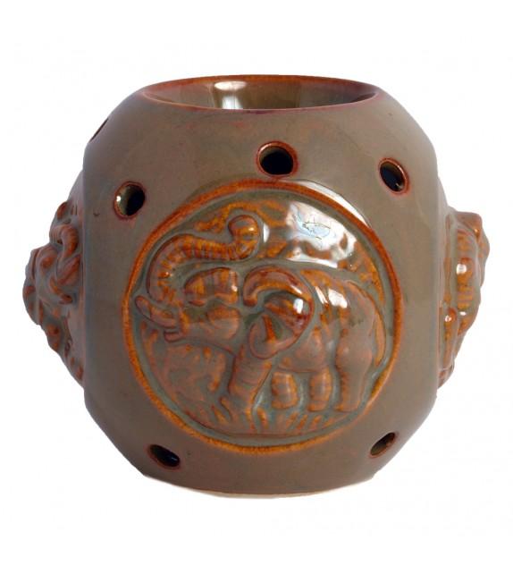 Ceramic Oil Burner Elephant 7A