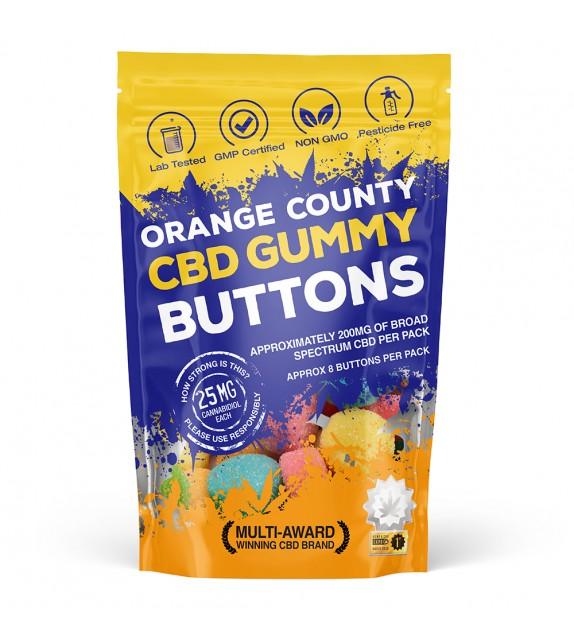 Orange County - CBD Buttons 200mg