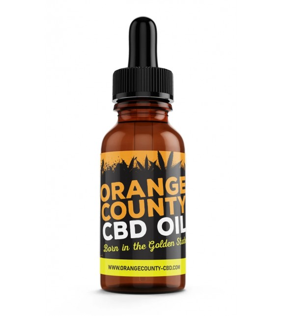 Orange County - CBD MCT OIL 500mg 30ml