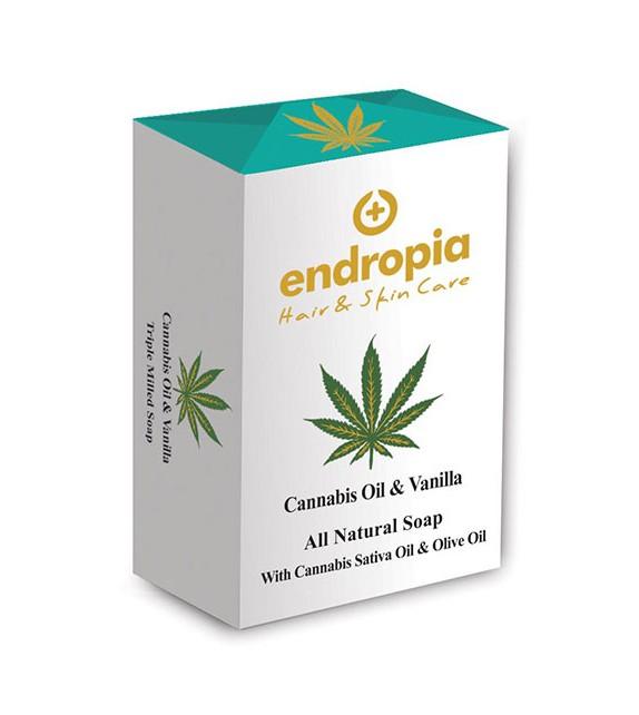 Endropia - Vanilla & Cannabis Oil Soap 150g