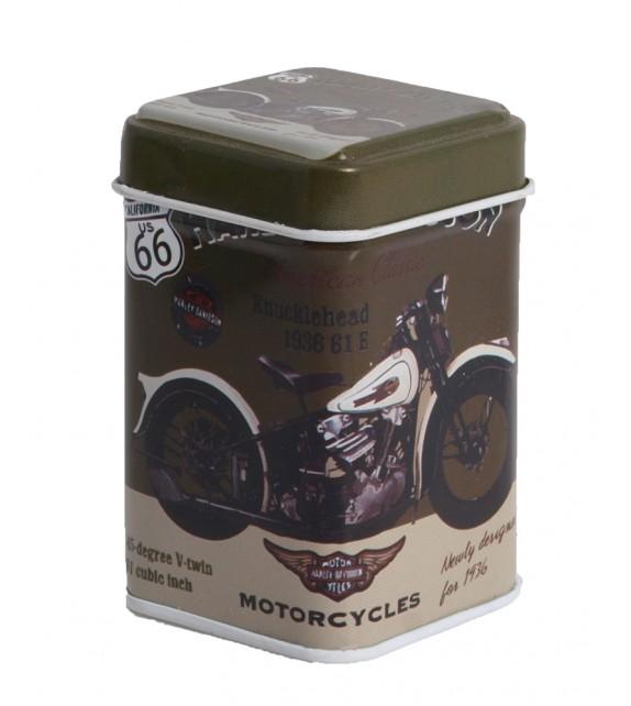 Metal Box - Route 66 Harley Davidson