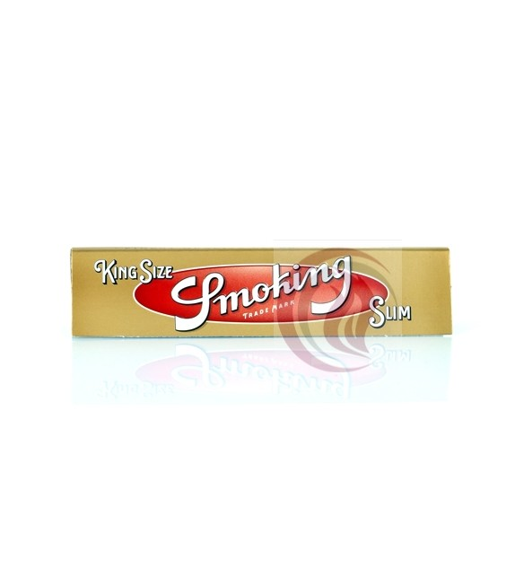 SMOKING -GOLD SLIM - KING SIZE