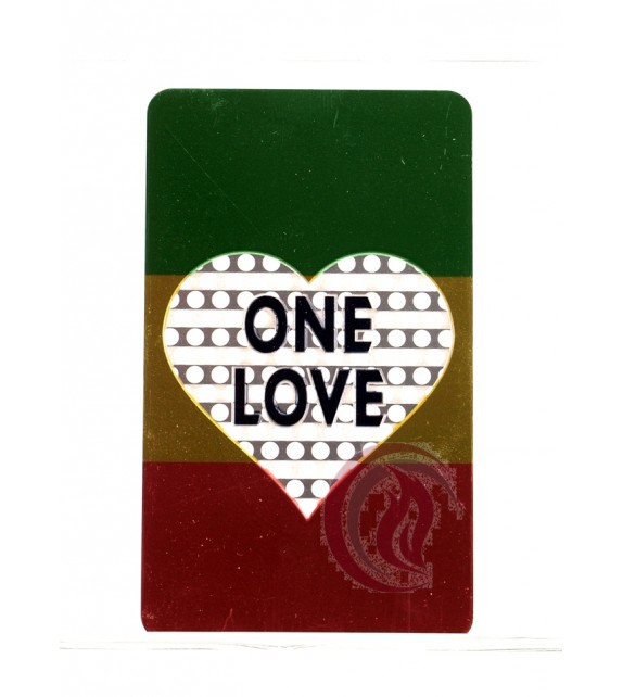 GRINDER CARD - ONE LOVE