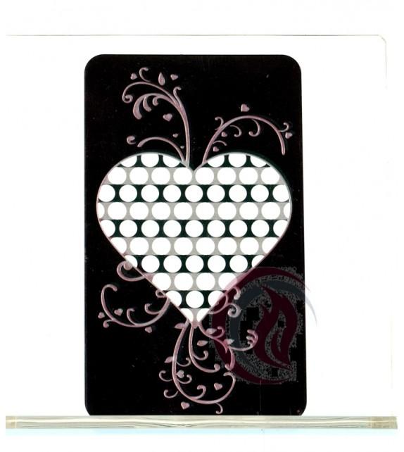 GRINDER CARD - HEART