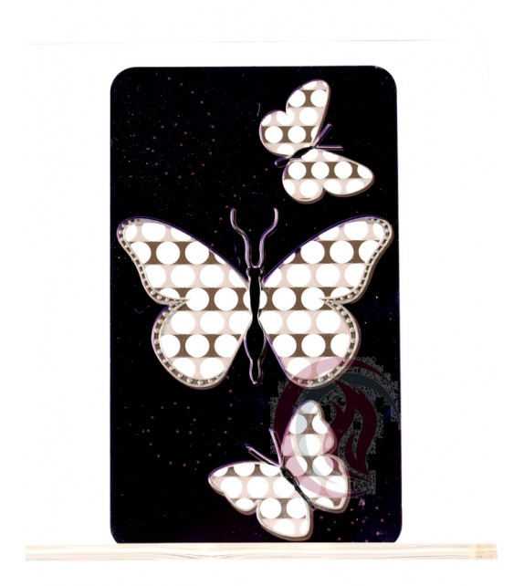 GRINDER CARD - BUTTERFLY