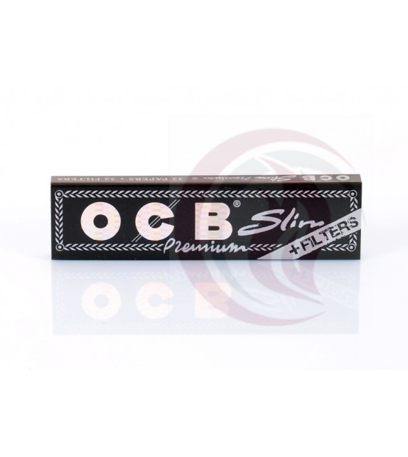 OCB PREMIUM - BLACK - KING SIZE SLIM +FILTERS