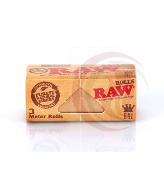 RAW - ROLL - CLASSIC 3M - KING SIZE