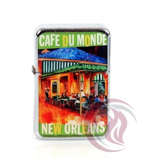 ZIPPO TYPE - CAFE DU MONDE