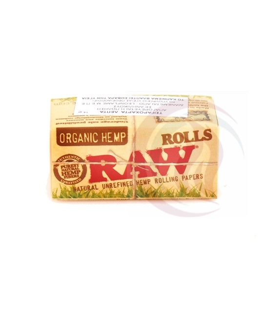 RAW - ROLL - 5M - ORGANIC HEMP