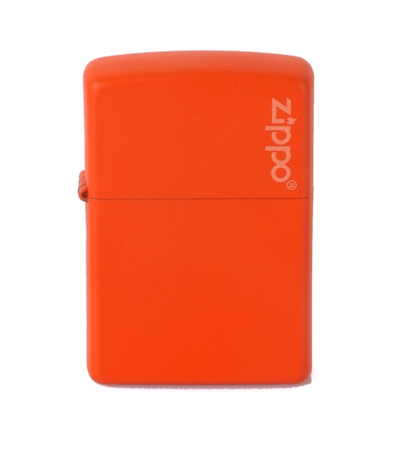 ZIPPO - ORANGE LOGO