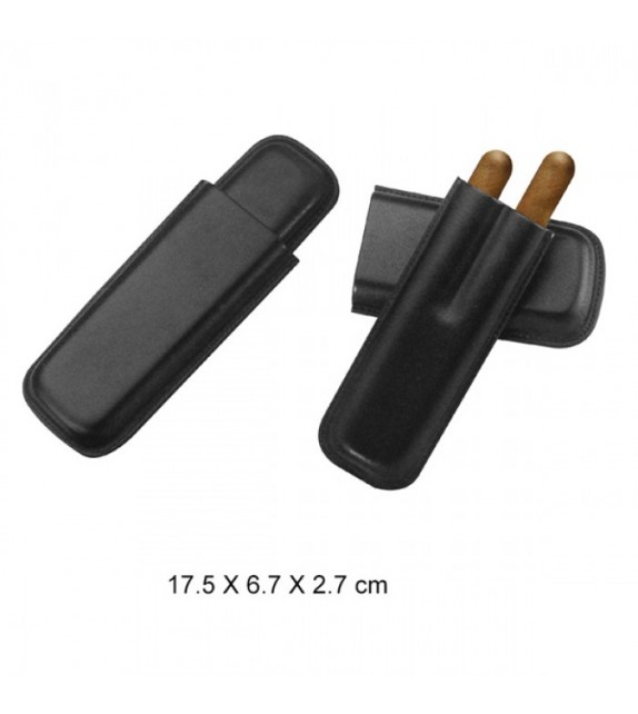CIGAR CASE - CLASSIC BLACK