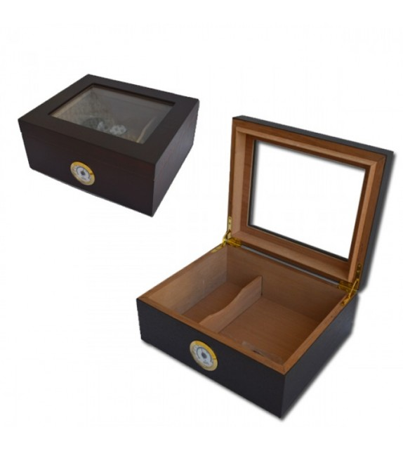 SIKARLAN - CHERRY GLASS HUMIDOR