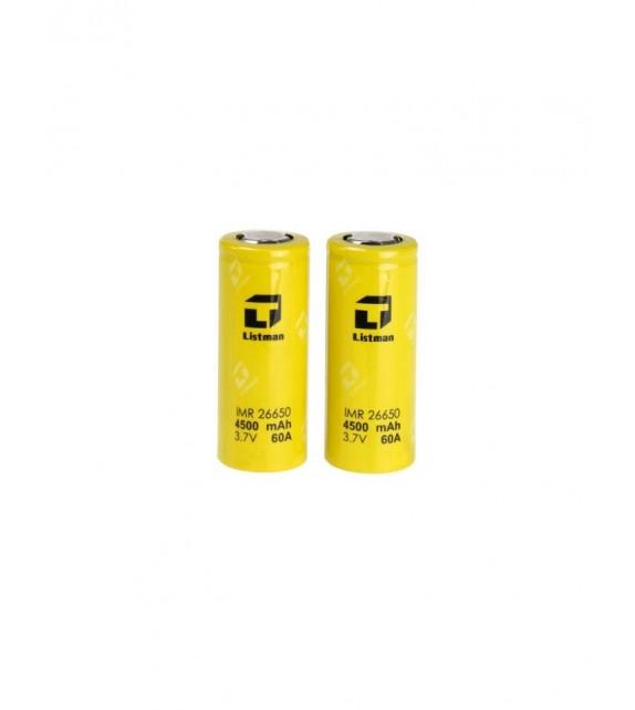 Listman Battery 26650 60A  4500mAh