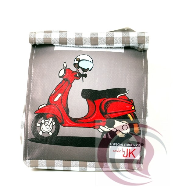 Lunch Bag - Red Vespa
