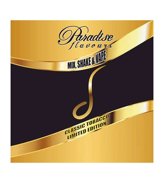 Paradise Classic Tobacco - δ - Shake and Vape